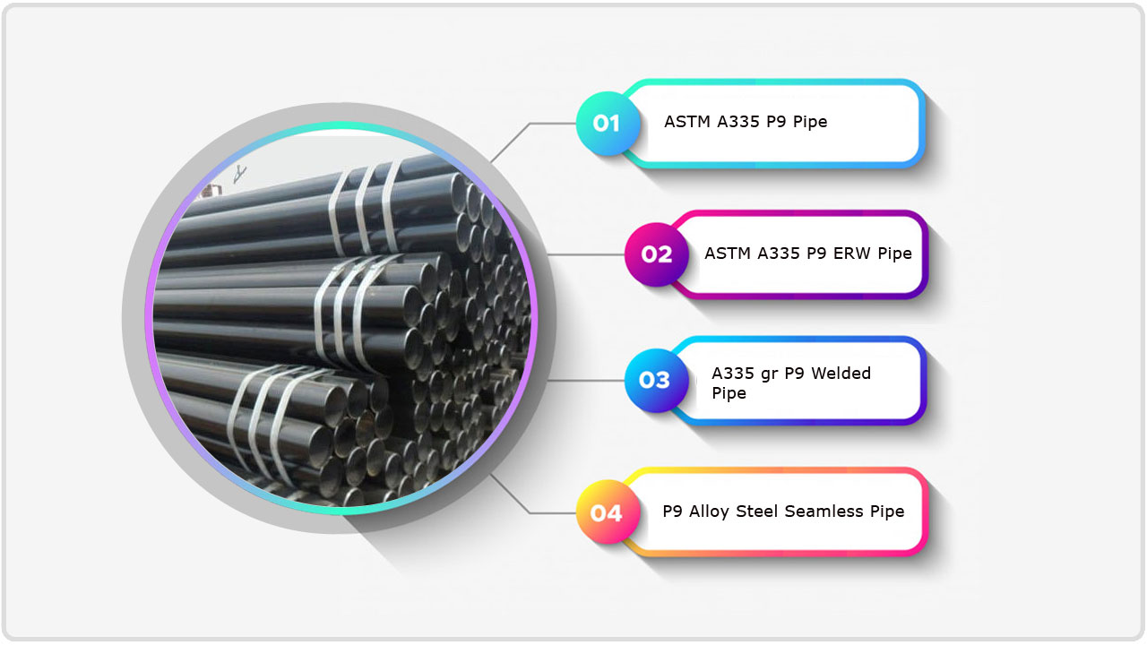 ASTM A335 P9 Pipe supplier