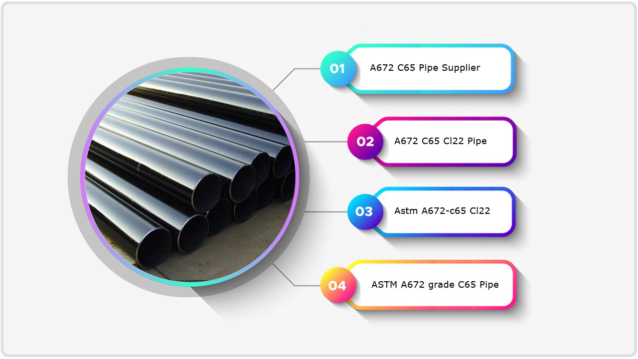 A672 C65 Pipe Supplier in India