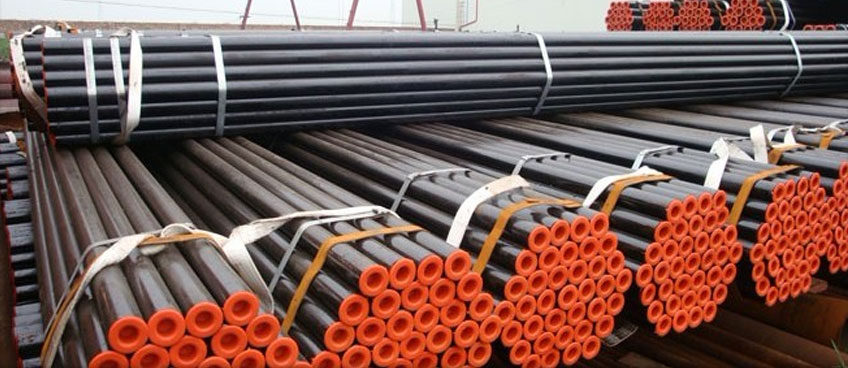 ASME SA / ASTM A333 GR.6 Carbon Steel Pipes Exporter in India